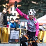 Krupina Majstrovstva Slovenska v cyklokrose Janka Stevkova Cieľová fotografia