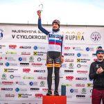 Krupina Majstrovstva Slovenska v cyklokrose Janka Števková Slovenský pohár stupne výťazov